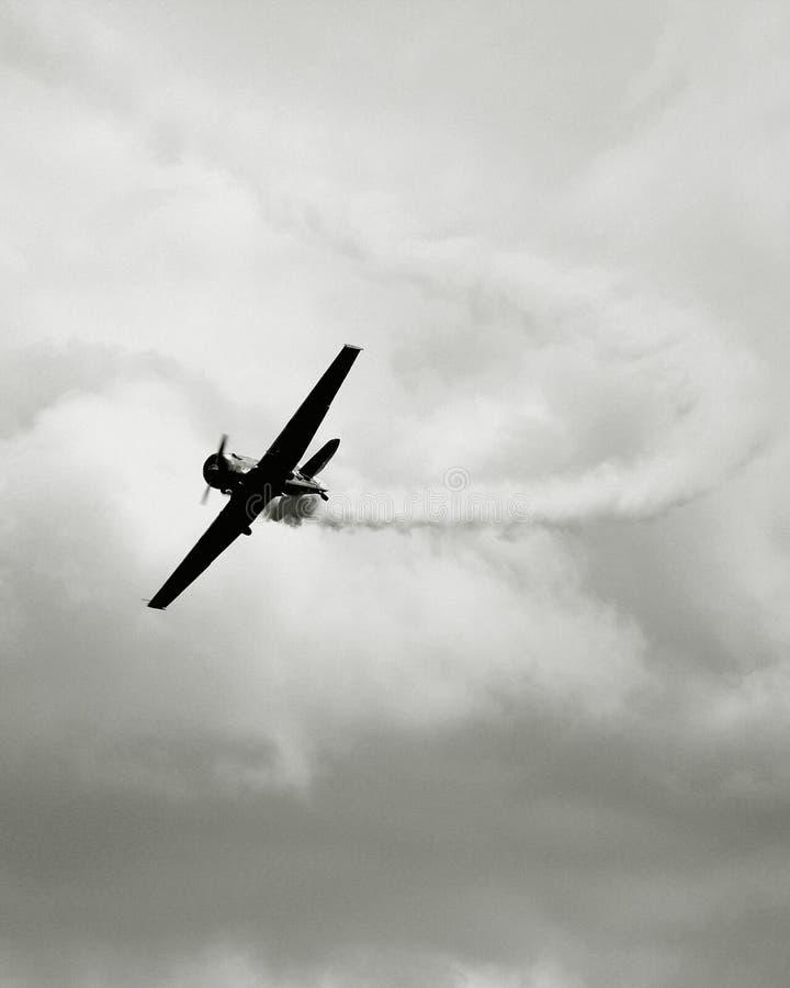 Free Vintage War Plane Royalty Free Stock Image - 2702836