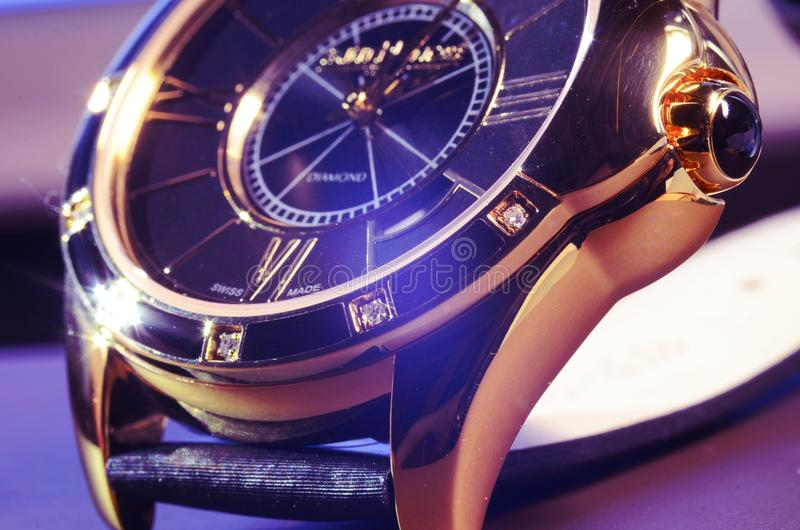 Vintage watch. Vintage Antique watch. Photo taken on: November 10th, 2014 royalty free stock photo