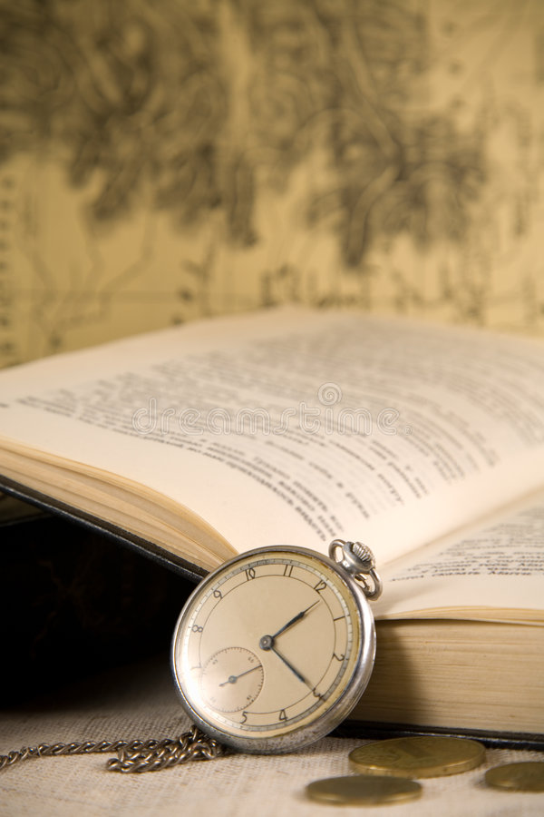 Download Vintage Watches And Book Royalty Free Stock Photo - Image: 8295655