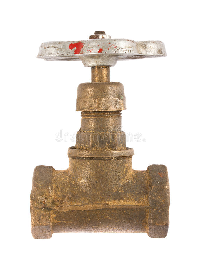Vintage Water Valve Stock Images