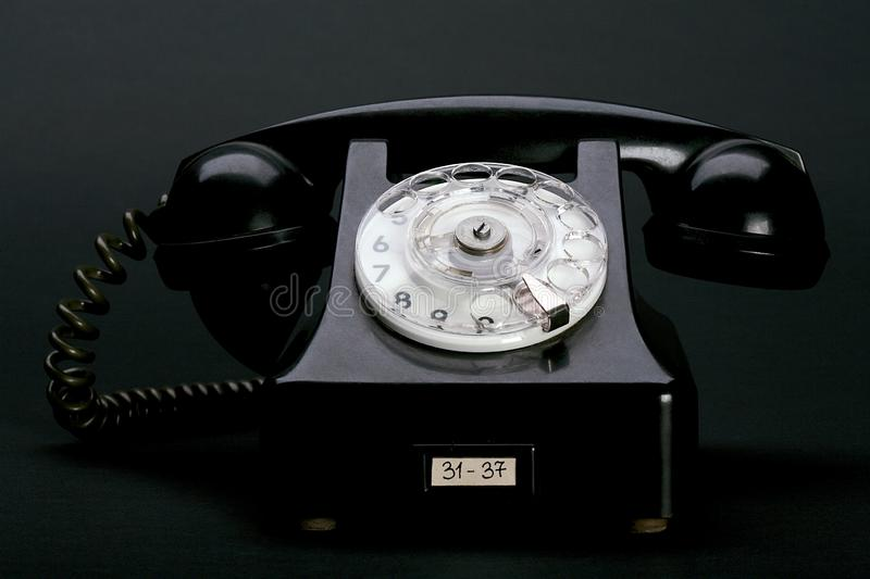 Vintage way to call. stock photography