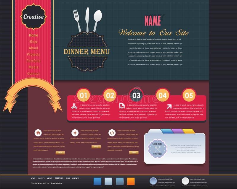Download Vintage Website Design  Elements Stock Photo - Image: 26341310