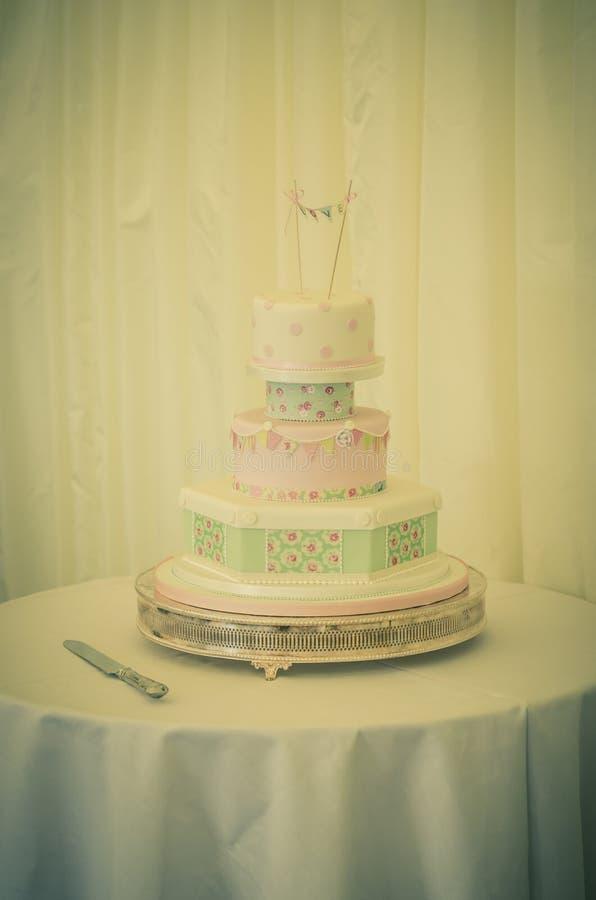 Download Vintage Wedding Cake Stock Photo Image Of Reception