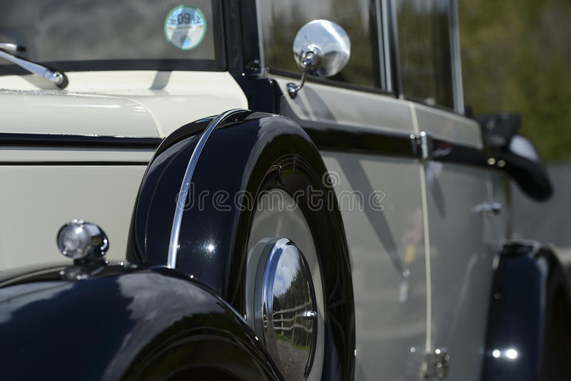 Download Vintage wedding car stock image. Image of luxury, details - 28178357