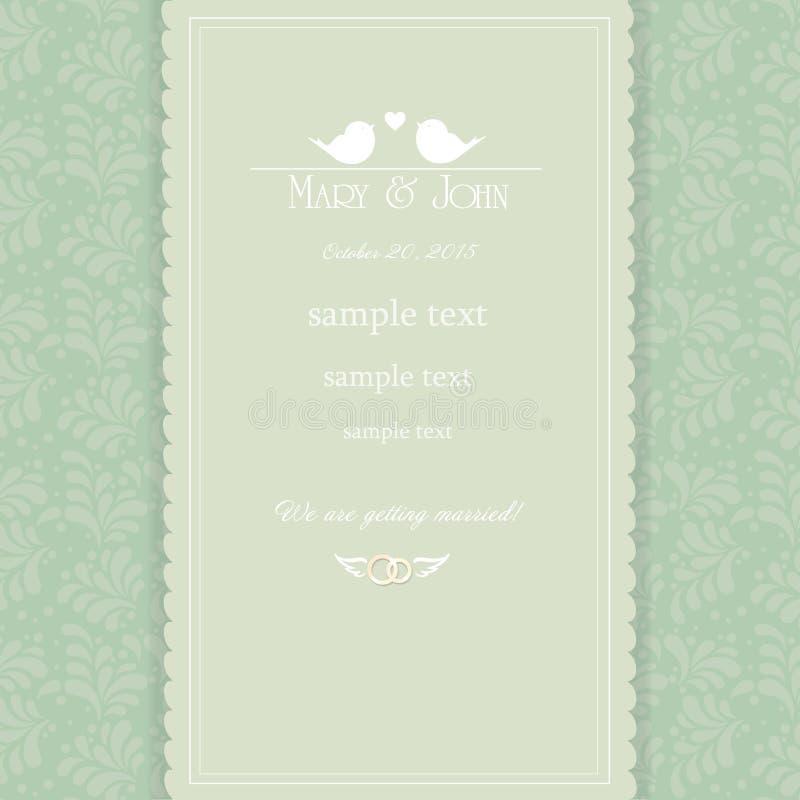 Vintage wedding invitation card stock vector illustration of download vintage wedding invitation card stock vector illustration of english detailed 65618174 stopboris Gallery