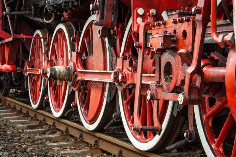 Vintage wheels stock images
