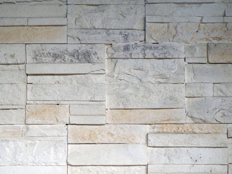 Vintage white brick background, bricks stock image