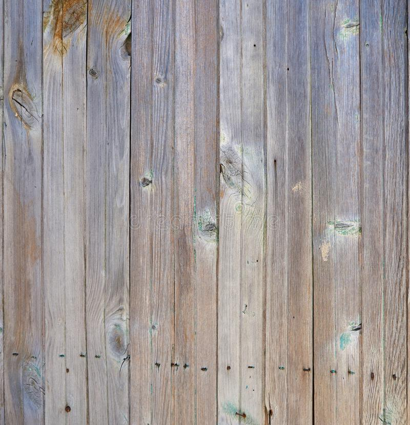 Vintage white wood texture with natural patterns as background stock image