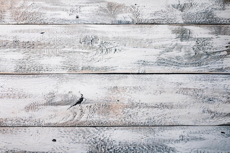 Vintage white wooden texture stock images