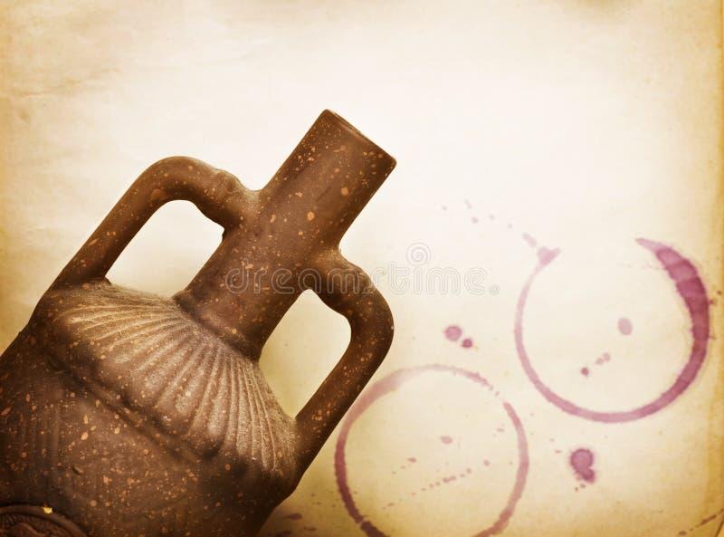 Download Vintage Wine Design stock photo. Image of empty, earthenware - 18971826