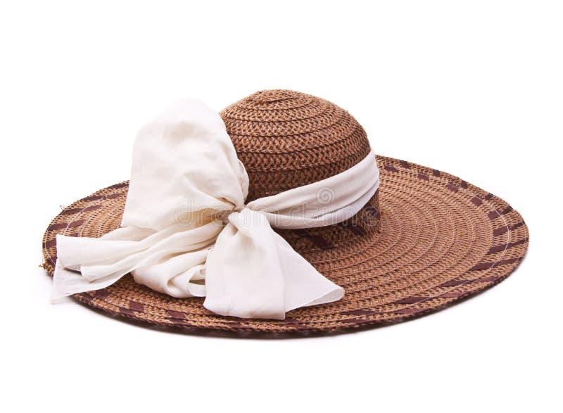 Vintage woman hat stock images