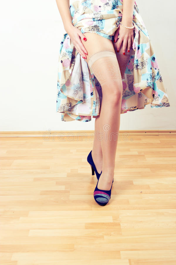 Download Vintage Woman Legs Stock Images - Image: 18884054