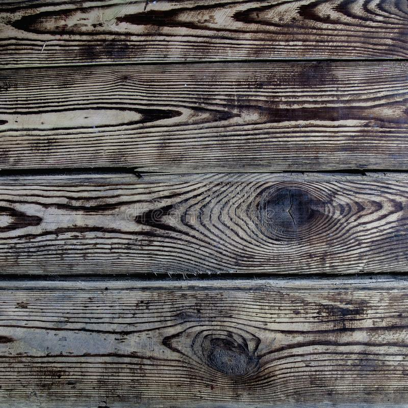 Vintage wood background. Rich wood grain texture of planks. royalty free stock photo