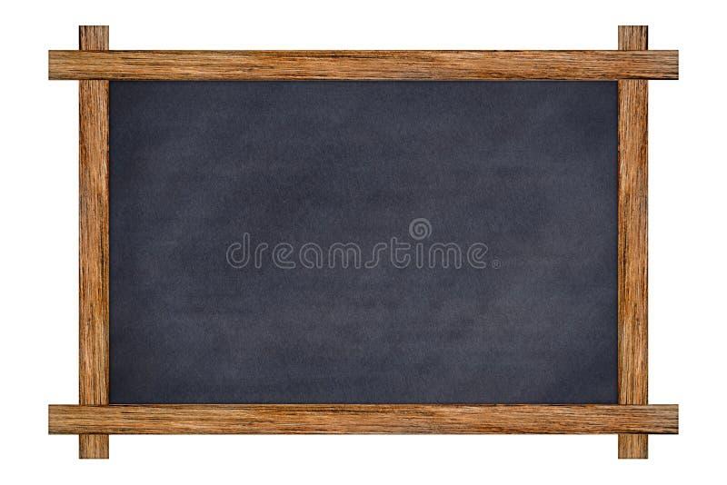 Vintage Wood Framed Slate Chalkboard. Stock Image - Image of ...