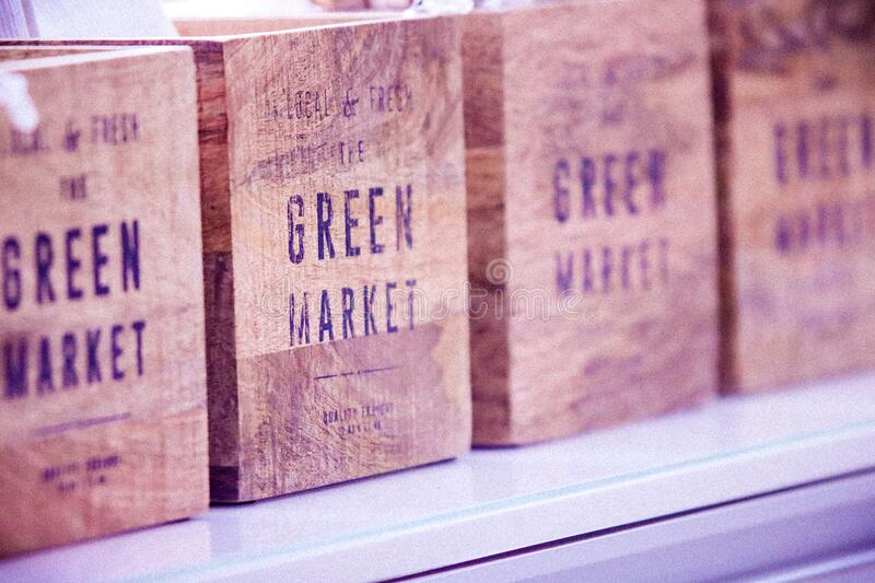 Vintage wooden boxes royalty free stock image
