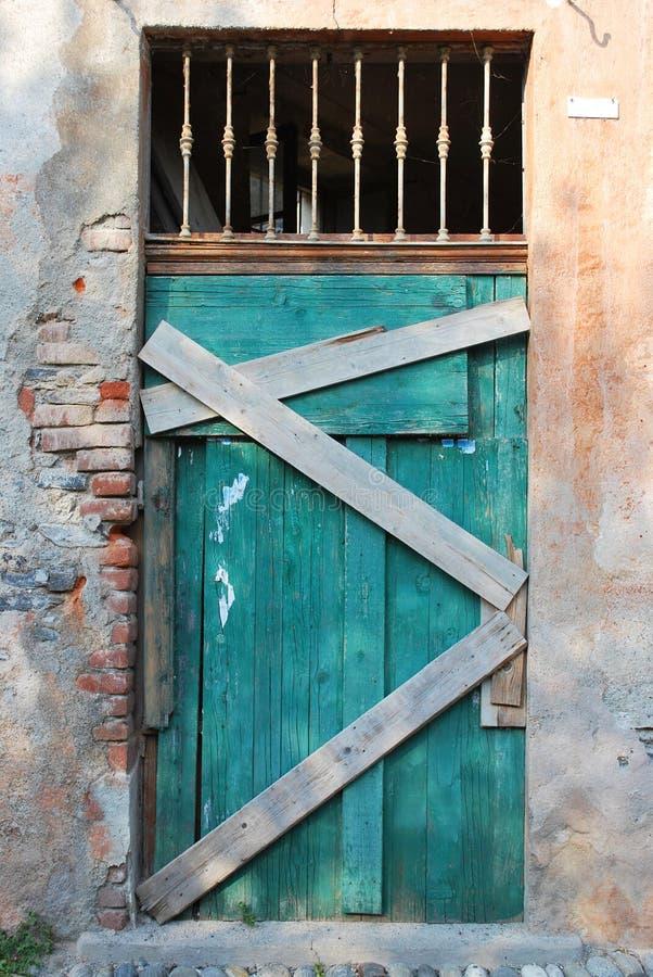 Download Vintage wooden door stock image. Image of piedmont, ancient - 28677395