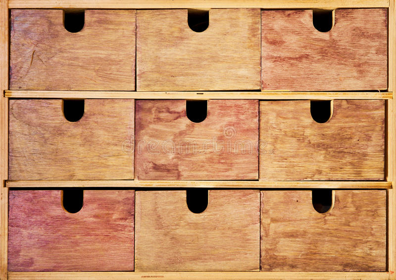 Download Vintage wooden drawer stock photo. Image of grunge, brown - 26608104