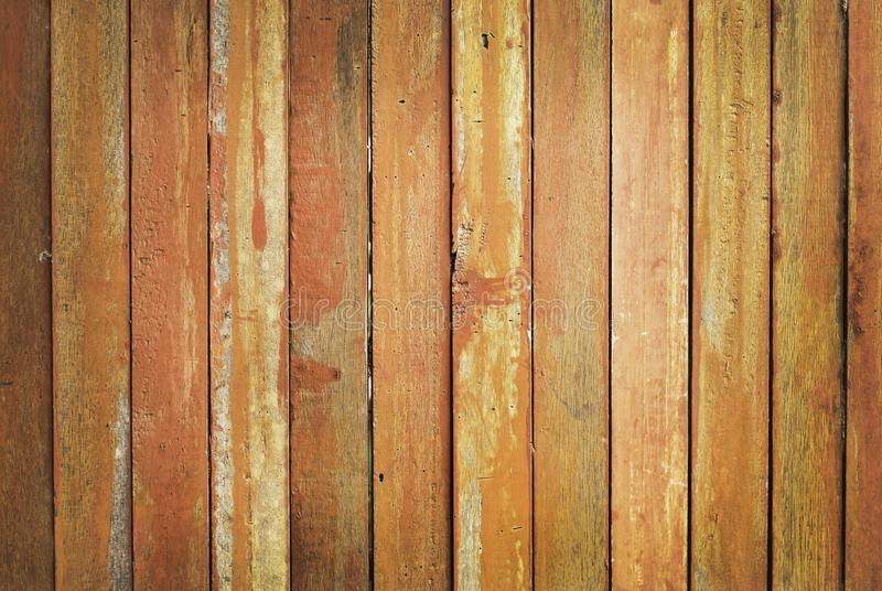 Vintage wooden planks wall background, texture of bark wood with old natural pattern for design art work.  royalty free stock image