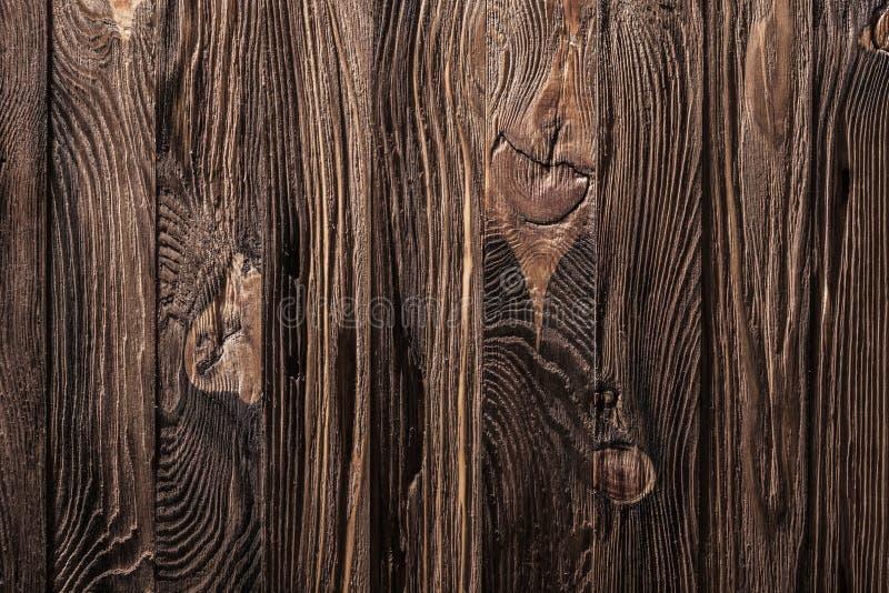 Vintage wooden texture brun old old board arkivfoton