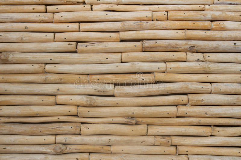 Vintage wooden timber wall background stock image