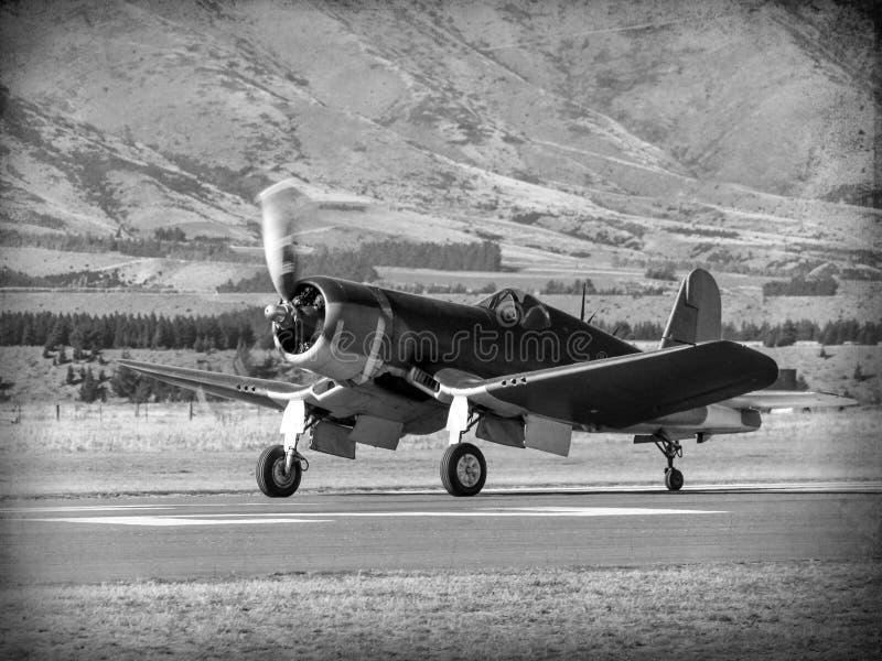 Vintage World War 2 flying boat stock photos