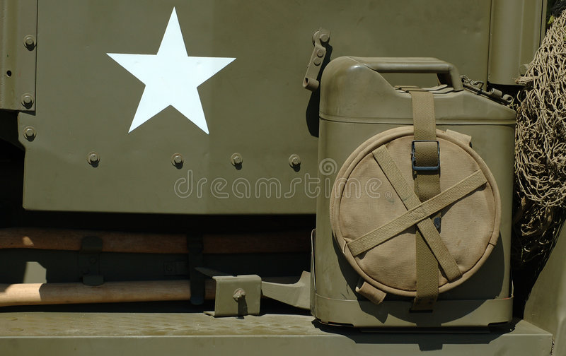 Download Vintage WWII Items stock image. Image of second, star, army - 163527