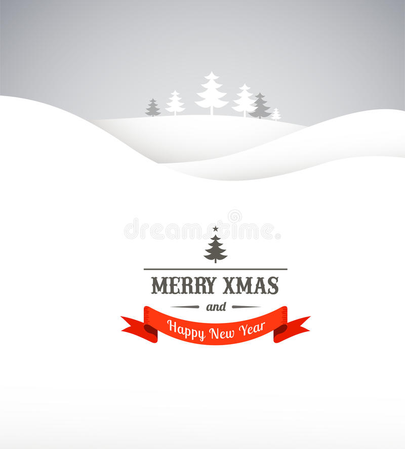 Vintage Xmas Greeting Card And Background Royalty Free Stock Images