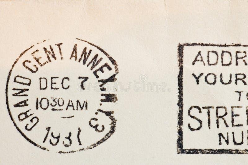 Download Vintage yellowed envelope stock image. Image of background - 14925865