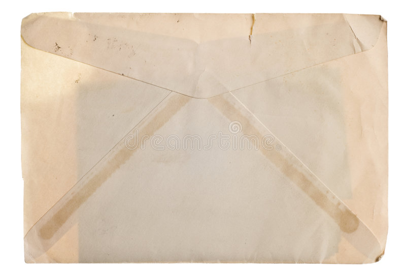 Download Vintage yellowed envelope stock image. Image of yellowed - 8348055