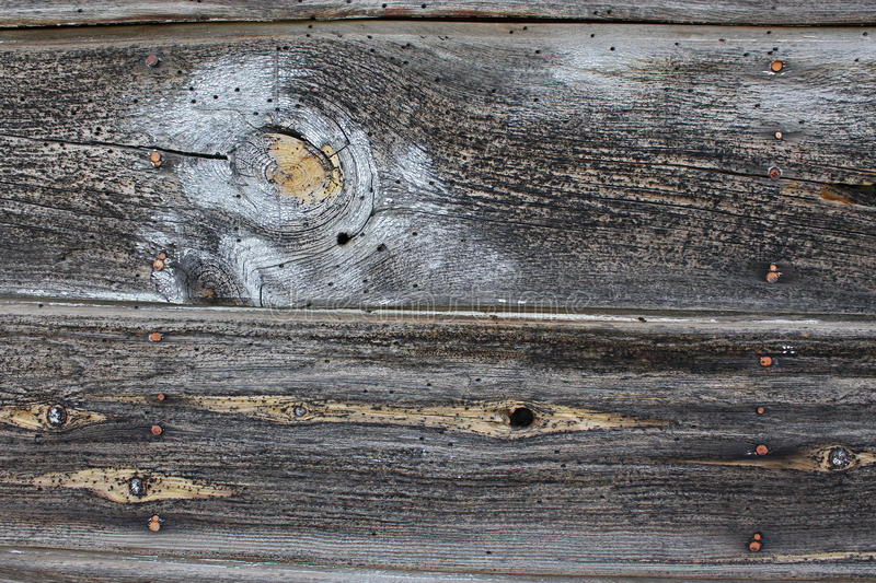 Vintaged Barnwood Boards With Paint stock images