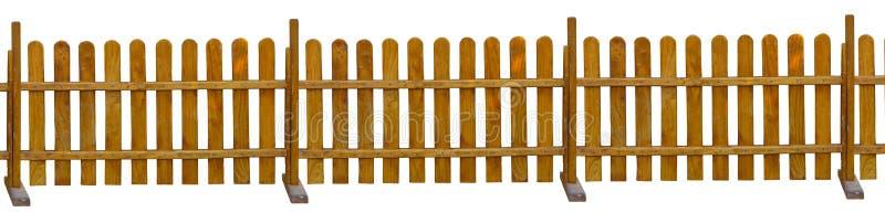 Vintagem de madeira marrom antiga isolada em fundo branco fotos de stock royalty free