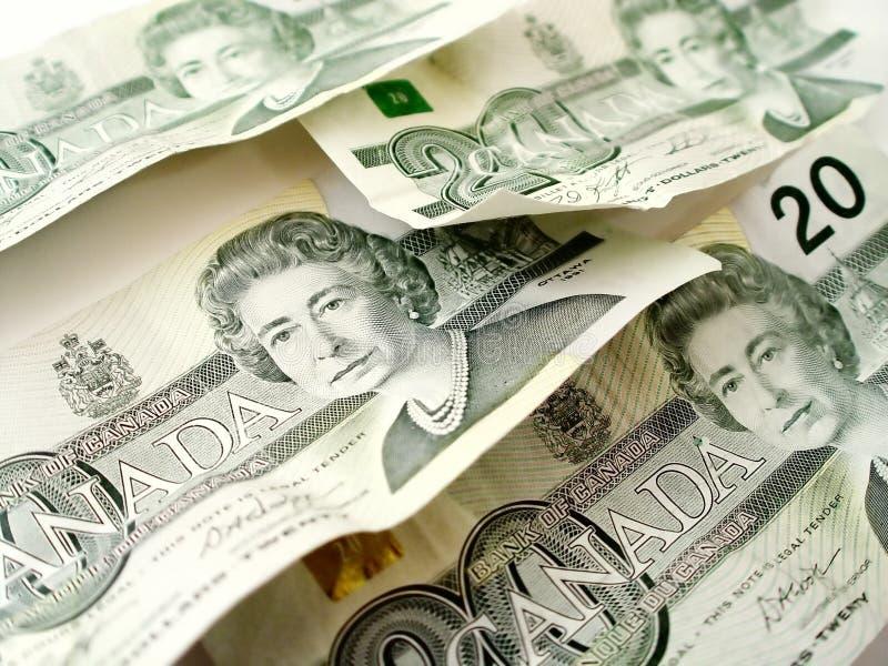 Vinte Contas De Dólar Foto de Stock