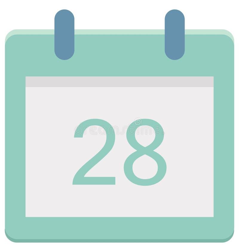 Vinte e oito, vinte e oito ícones do vetor do dia do evento especial dos dentes que pode facilmente ser alterado ou editado ilustração royalty free