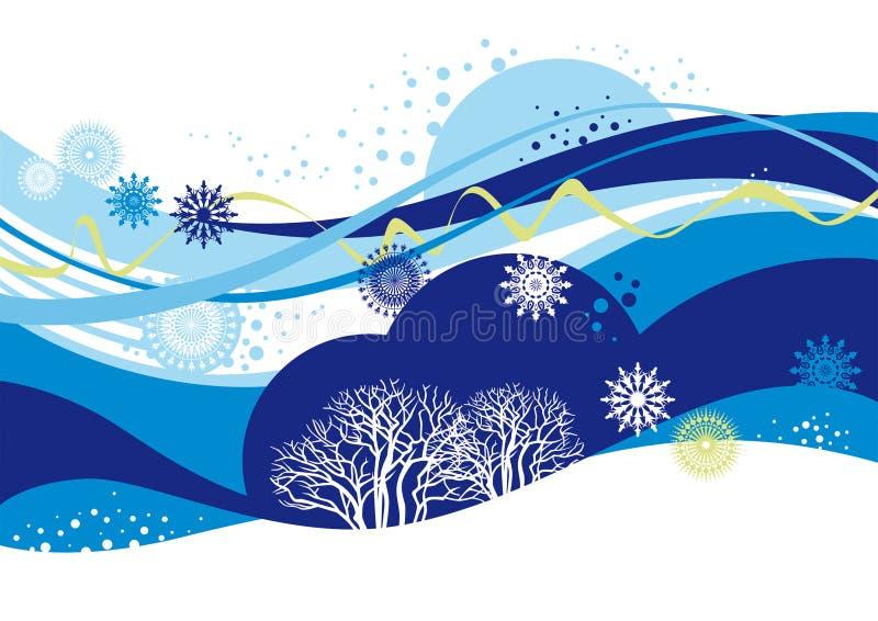 vinter vektor illustrationer
