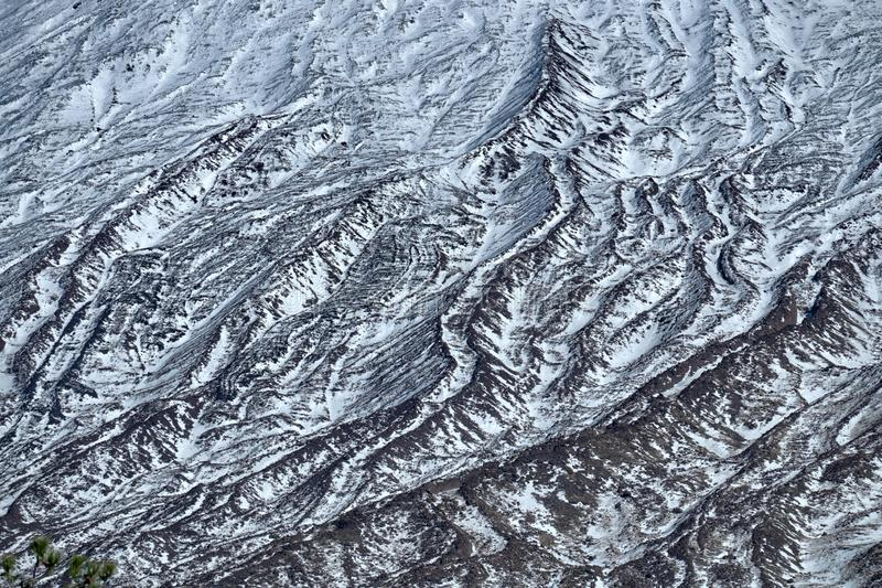 Vinter Etna Park royaltyfri fotografi