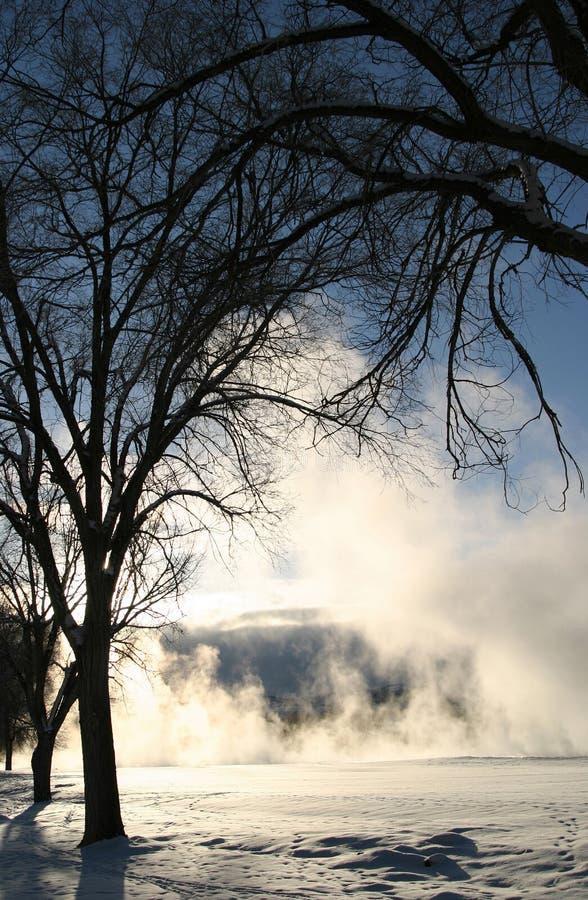 vinter för 7 dröm- serie arkivfoto