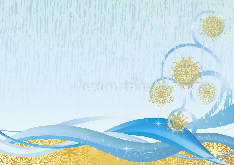vinter för bakgrund ii royaltyfri illustrationer