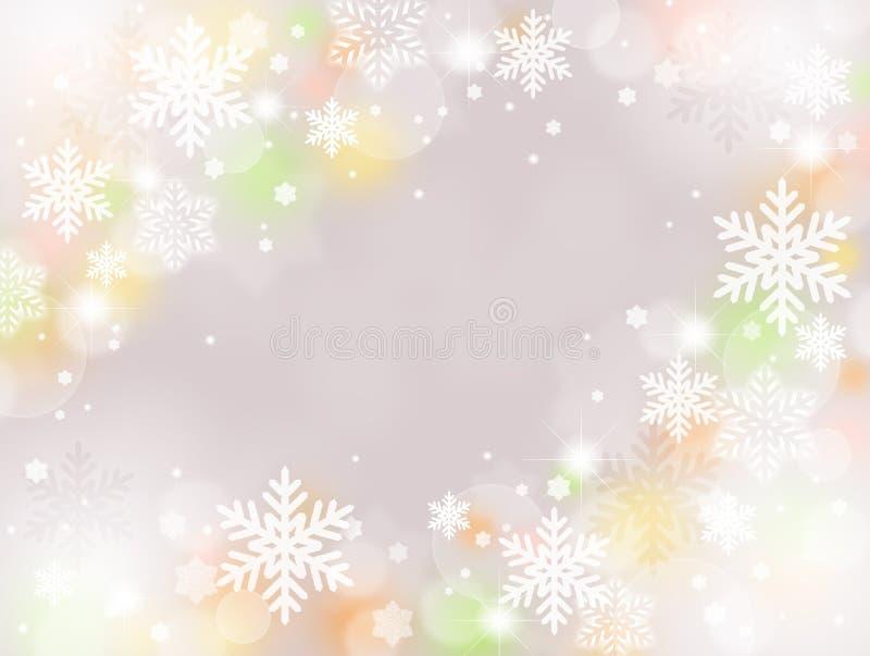 vinter för bakgrundsvägsnow stock illustrationer