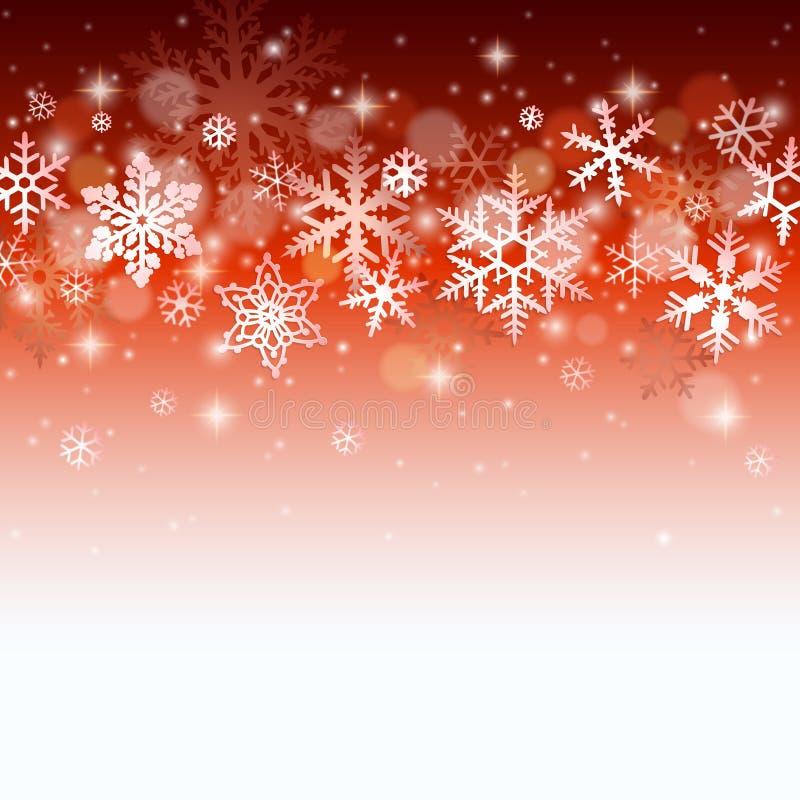 vinter för illustration för bakgrundsjuldesign stock illustrationer