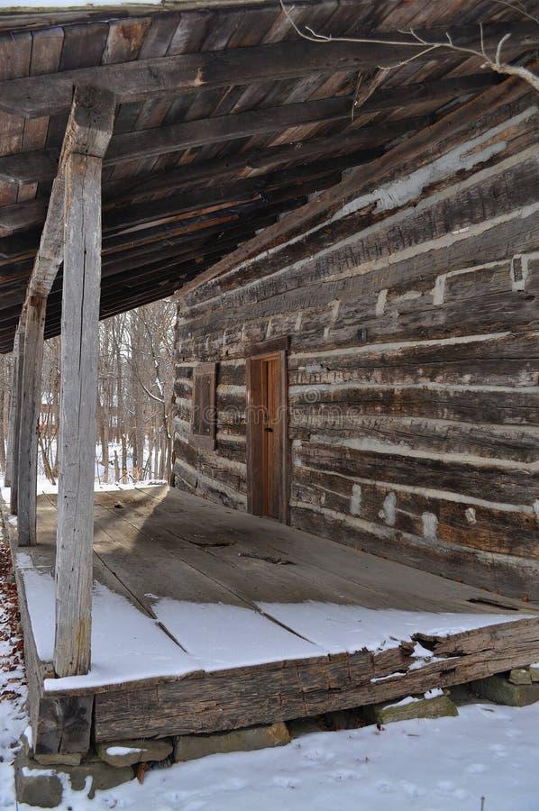 vinter för kabinjournalfarstubro arkivfoton