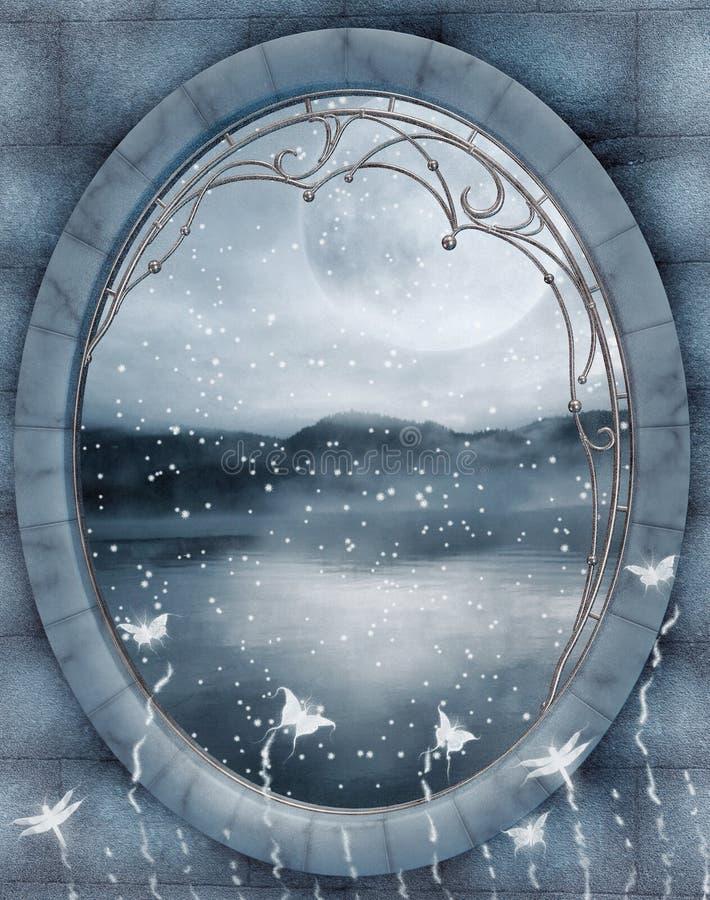 vinter för landskap 3 stock illustrationer