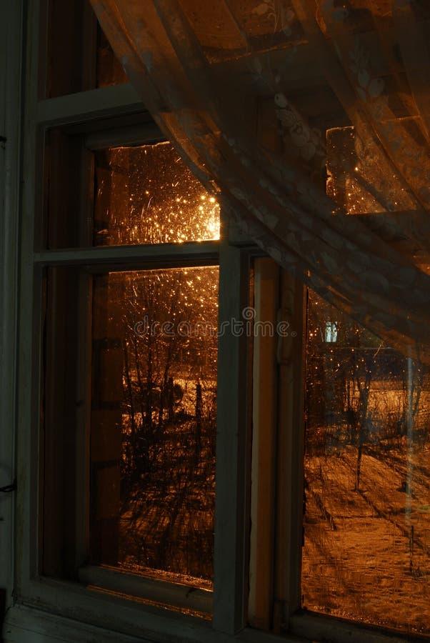 vinter för regn för chisinau borggårdbild liten royaltyfria foton