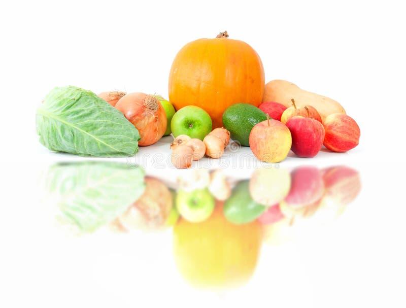 vinter för höstfruktgrönsaker royaltyfria bilder