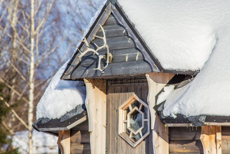 Vinter i bygden royaltyfria bilder