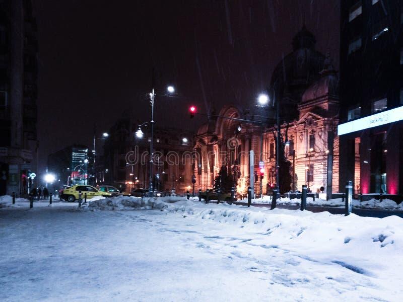 Vinter i vår royaltyfria bilder