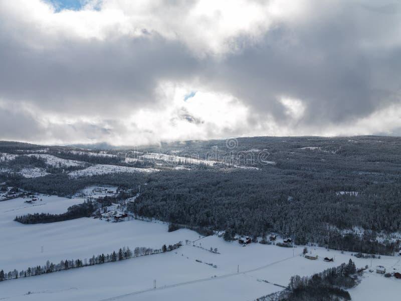 Vinter Norge royaltyfria foton