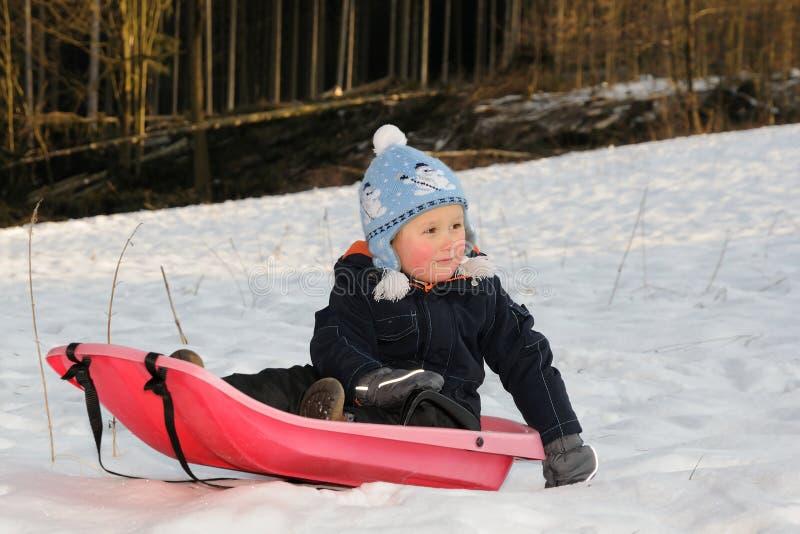 Vinteraktivitet Royaltyfri Fotografi