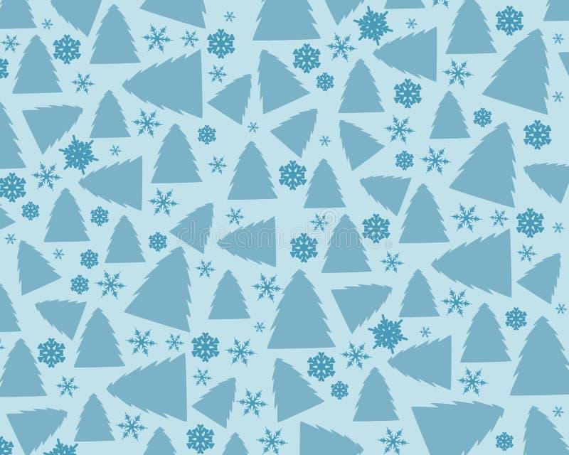 Vinterbakgrund vektor illustrationer