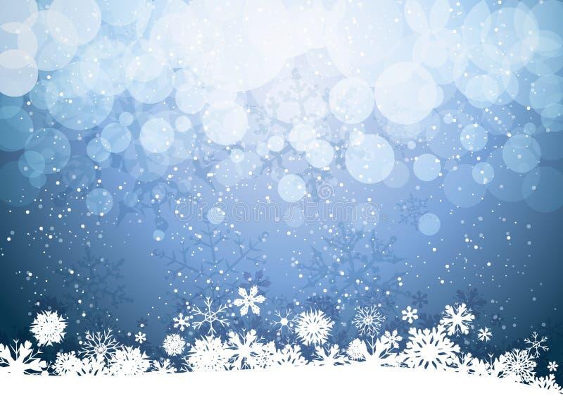 Download Vinterbakgrund vektor illustrationer. Illustration av säsong - 27276088