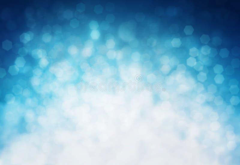 Vinterbokehbakgrund